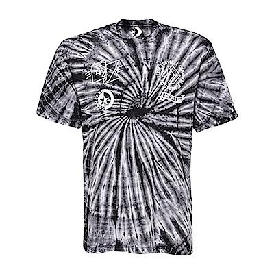 CONVERSE-男休閒短T恤10005914-A01-黑白