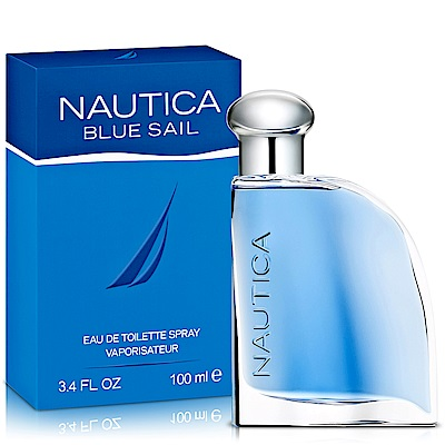 Nautica Blue Sail 藍帆男性淡香水100ml-送品牌沐浴精