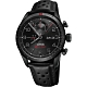 Oris Audi Sport 鈦限量賽車聯名計時腕錶-黑/44mm 0177876617784 product thumbnail 1