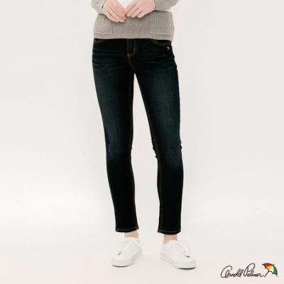 Arnold Palmer -女裝-保暖紗基本款牛仔褲-深藍色