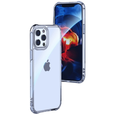 LEEU DESIGN Apple iPhone 12/12Pro 傲熊冰封 氣囊鋼化玻璃殼