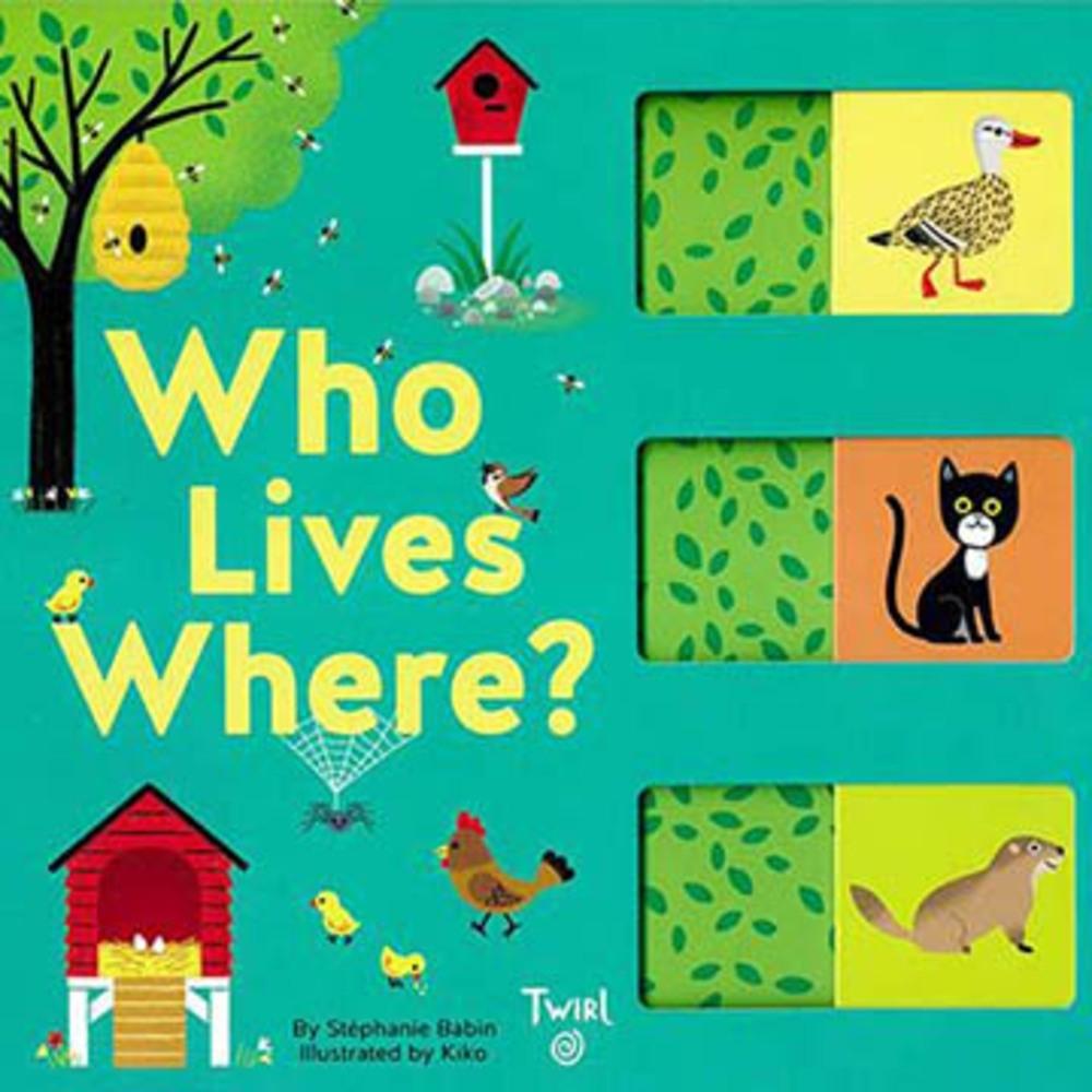 Who Lives Where? 動物的家在哪裡?配對遊戲書