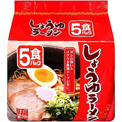 北勢麵粉 北勢5入包麵-醬油風味(415g)