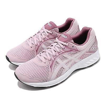 Asics 慢跑鞋 Jolt 2 D 運動休閒 寬楦 女鞋 亞瑟士 路跑 透氣 輕量 透氣 粉 白 1012A188702