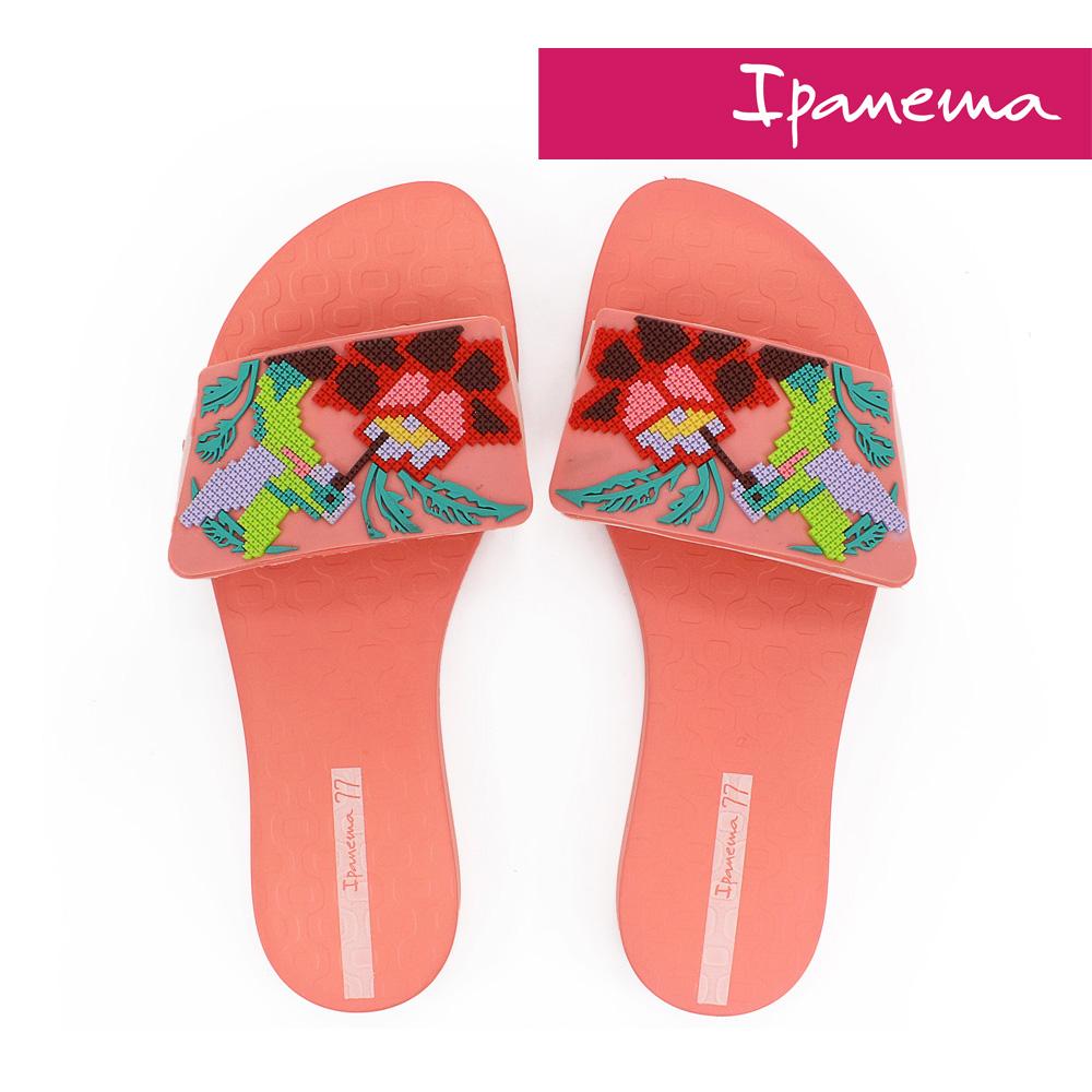 IPANEMA 艷夏派對夾腳拖鞋-珊瑚粉