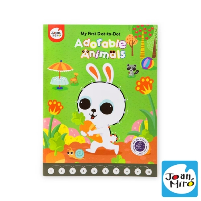 【西班牙 JoanMiro 原創美玩】兒童連點畫-可愛動物 JM08848