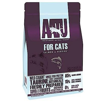 奧圖AATU超級 8 《皇室 85 %鮭魚+鯡魚》低敏無穀挑嘴全齡貓糧  200 G 兩包組