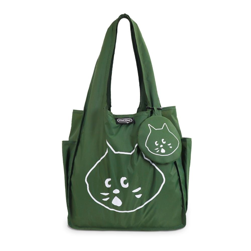 murmur A4購物袋│NYA- 橄欖綠