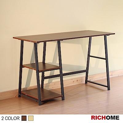 RICHOME鋼鐵人工作桌-2色