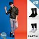 Footer除臭襪--素色美學氣墊防磨船短襪六雙入(黑*3+白*3) product thumbnail 1