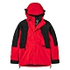 The North Face 經典ICON 男女防水透氣連帽衝鋒衣 紅-NF0A4R52R15 product thumbnail 1