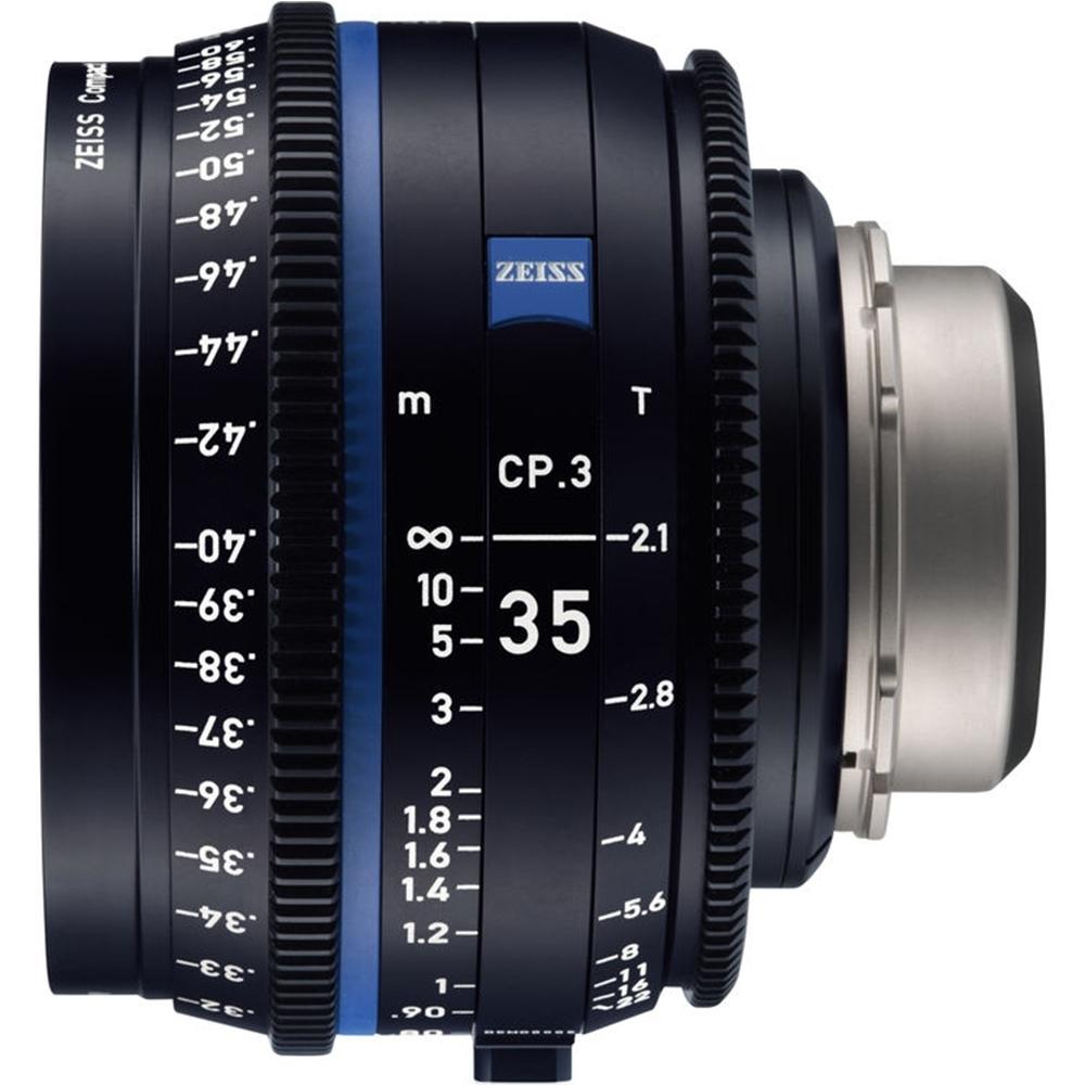 蔡司 Zeiss CP.3 35mm T2.1 Feet 電影定焦鏡頭 公司貨