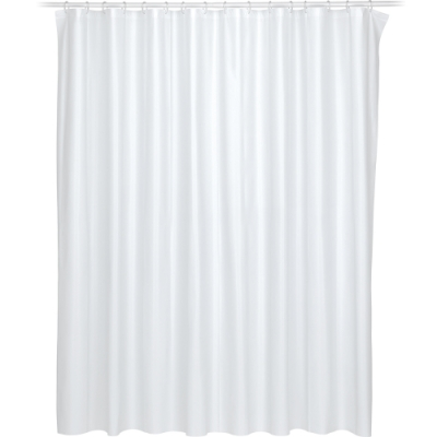 《KELA》Largo防水浴簾(白120cm)