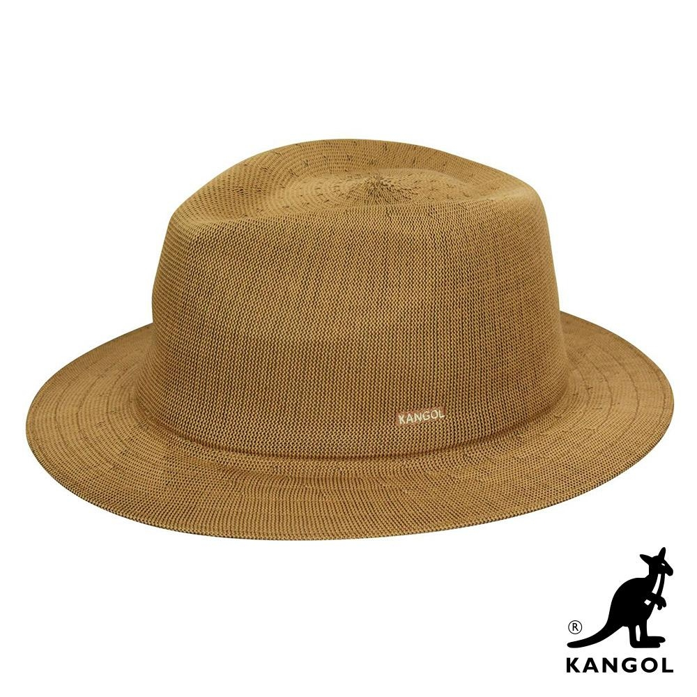 KANGOL -BARON TRILBY 紳士帽-棕色
