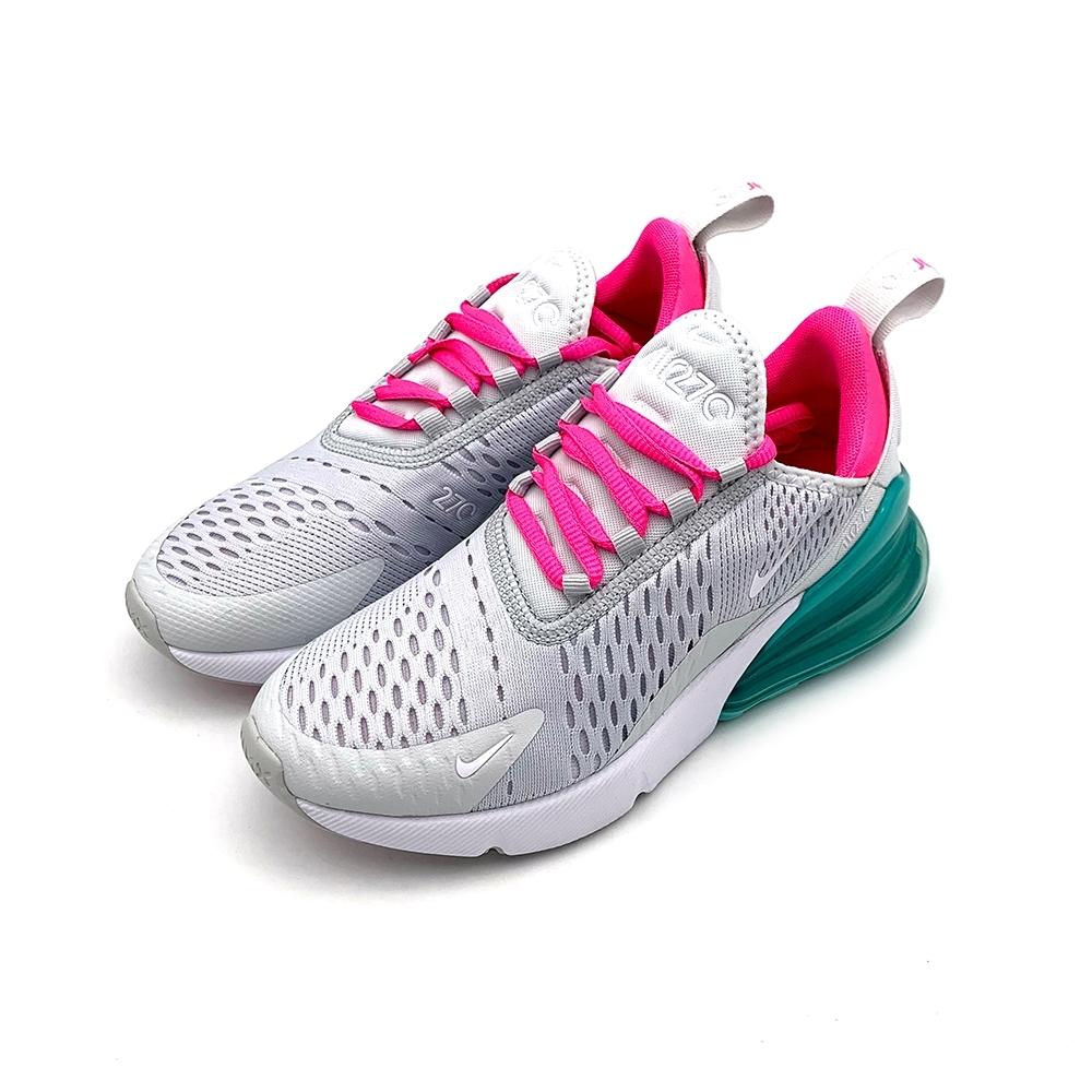 NIKE AIR MAX 270 女 休閒鞋 白綠粉