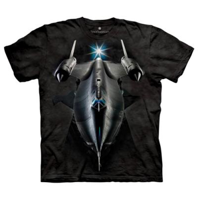摩達客-美國The Mountain黑鳥偵察機 純棉短袖T恤
