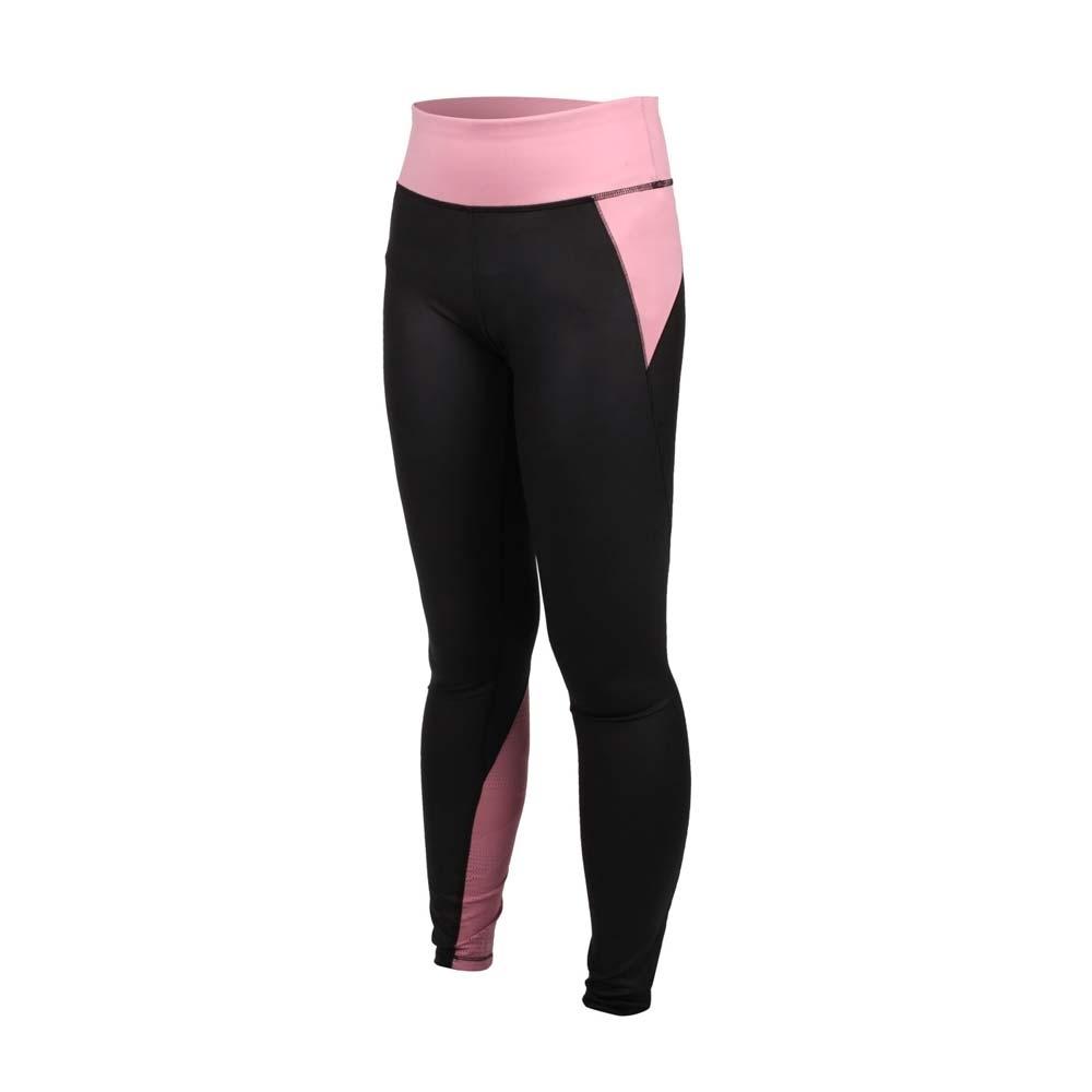 PUMA 女訓練系列九分緊身褲-歐規 反光 瑜珈 慢跑 路跑 運動 緊身長褲 51951101 粉藕黑