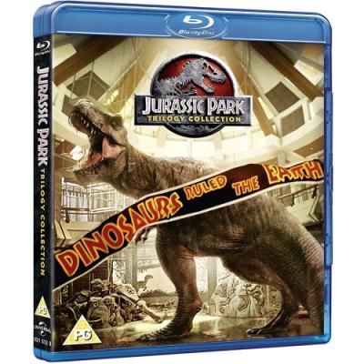 侏羅紀公園(侏儸紀公園) 1~3集 套裝 Jurassic Park  藍光BD