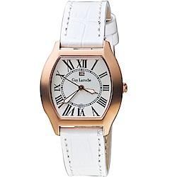姬龍雪Guy Laroche Timepieces古典羅馬女錶(LW5047B-08)