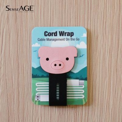 SenseAGE 磁吸式動物捲線器-小豬