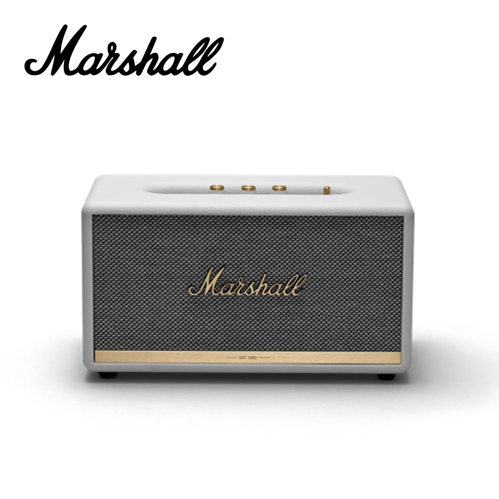 Marshall Stanmore BT II 藍芽喇叭音箱 時尚白色款