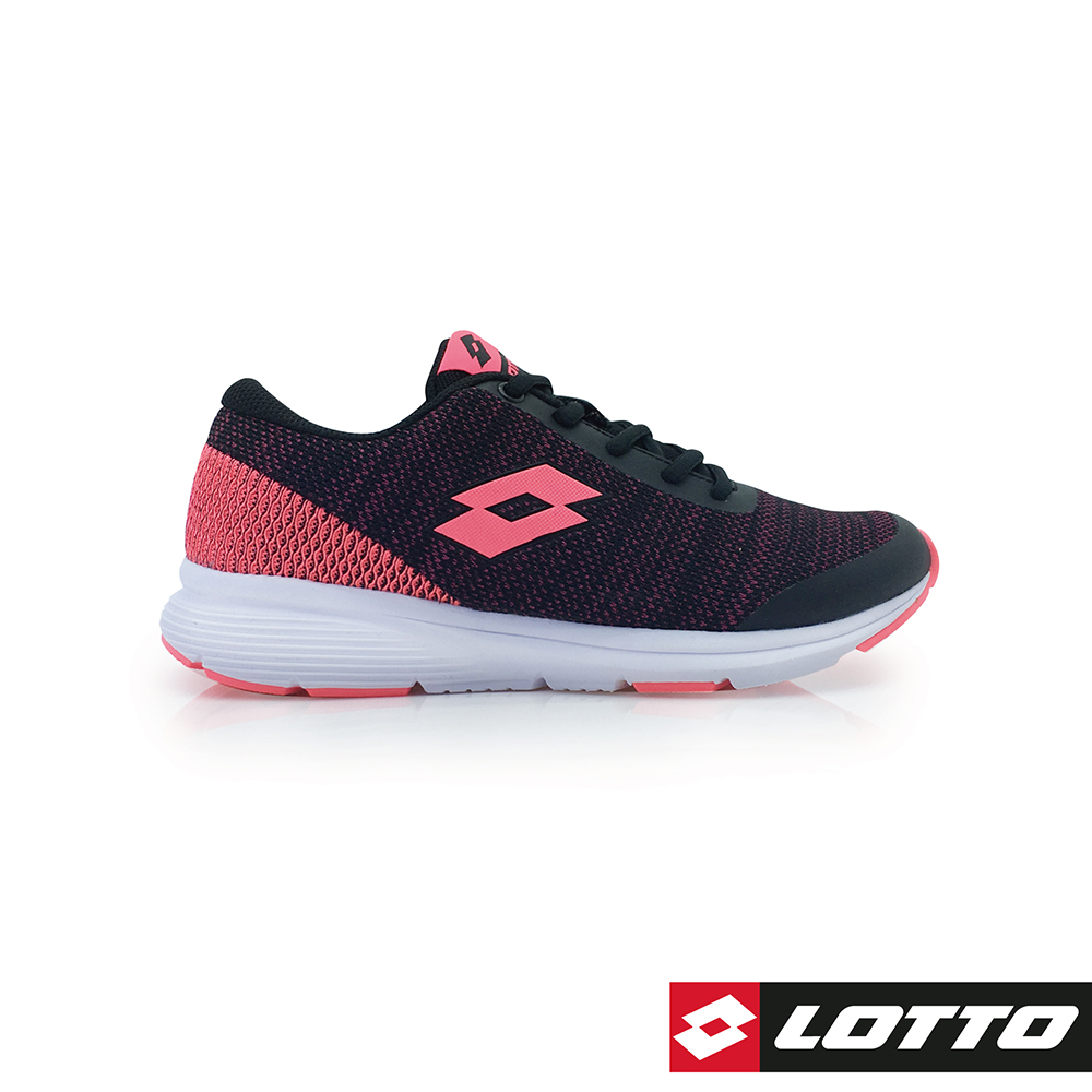LOTTO 義大利 女 URBAN RUN 城市暢跑鞋 (黑紅)