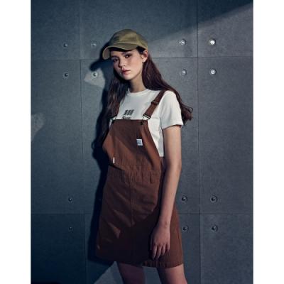 NAVY-休閒貼袋吊帶裙(二色)-女【B2NA047】