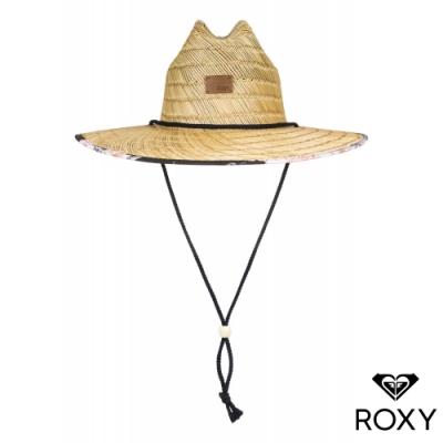 【ROXY】TOMBOY PRINTED 戶外運動帽 黑