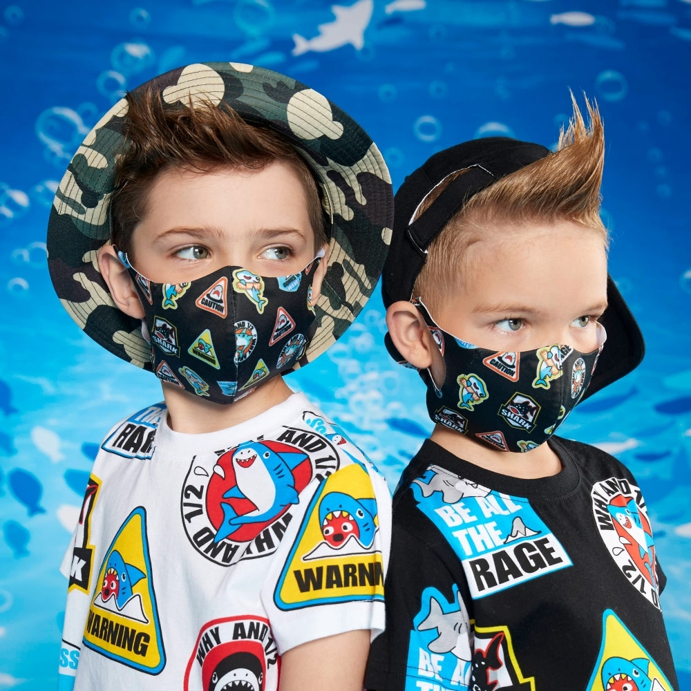 WHY AND 1/2 一體成形立體兒童口罩-抗菌防紫外線 多色可選 product image 1