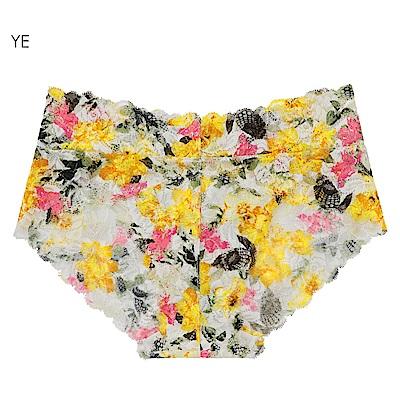 aimerfeel 花漾蕾絲內褲-黃色-778721-YE