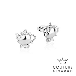 Disney Jewellery by Couture Kingdom 茶壺夫人鍍白金耳釘