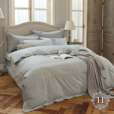 HOYA H Series都市時代 加大四件式300織長纖細棉被套床包組