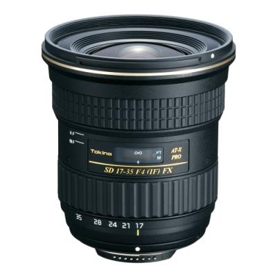 Tokina AT-X 17-35mm F4 PRO FX 全片幅鏡頭 (公司貨)