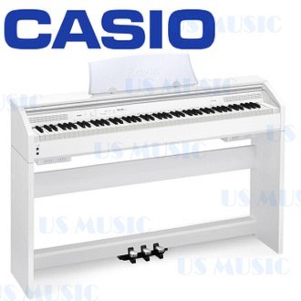 CASIO PX-760 88鍵電鋼琴/全新改款/公司貨保固/白色