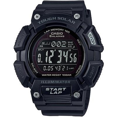 CASIO 酷炫運動太陽能腕錶(STL-S110H-1B2)/52mm