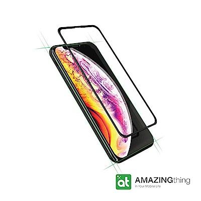 AMAZINGthing Apple iPhone Xs Max 3D滿版防彈強化玻璃保護