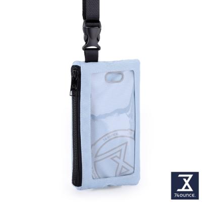 74盎司 Life 頸掛手機兩用包[TG-235-Li-T]淺藍