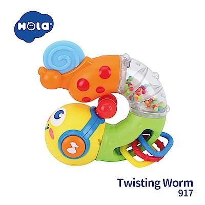 香港HOLA幼兒聲光玩具-百變音樂扭扭蟲 917