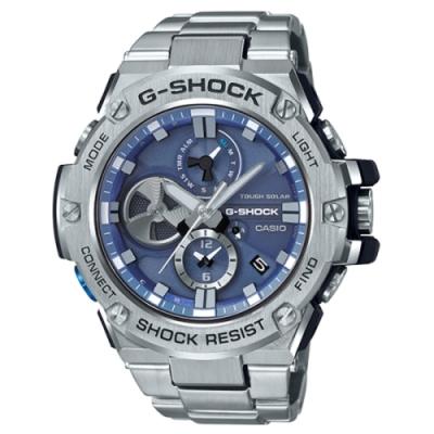 CASIO G-SHOCK 競速太陽能運動腕錶/GST-B100D-2A