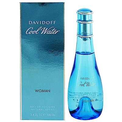 Davidoff Cool Water 冷泉 女性淡香水100ml