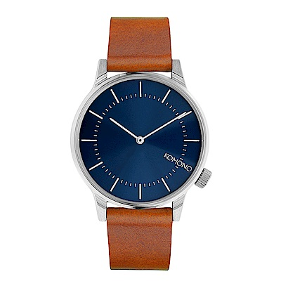 KOMONO Winston Regal 手錶-水手藍/41mm