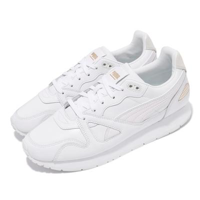Puma 休閒鞋 Mirage OG Suit 男女鞋 海外限定 皮革鞋面 復刻 情侶鞋 白 金 38252201