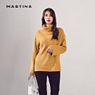 【MASTINA】韓式高領寬鬆-針織衫(二色)