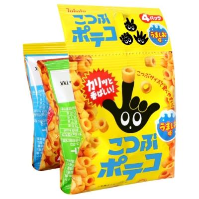 Tohato東鳩 4連手指圈圈餅(64g)