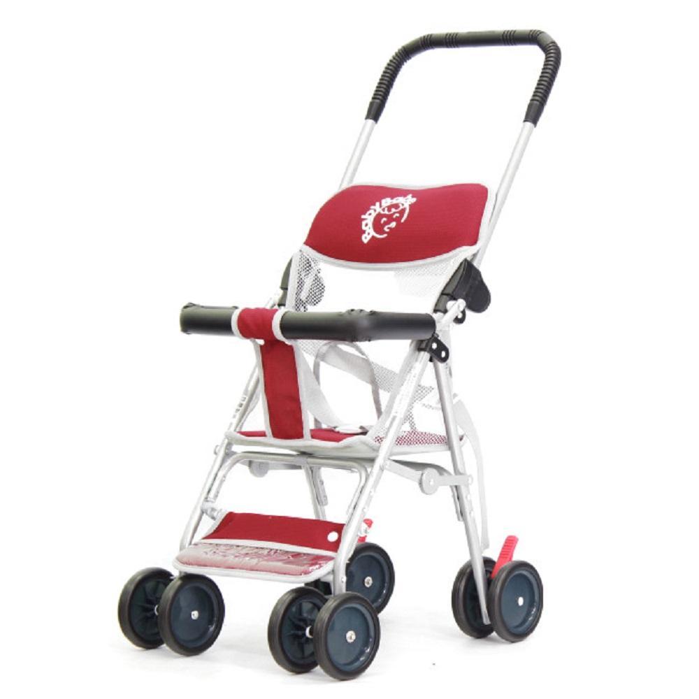 BabyBabe  輕便型手推車-加贈柔軟墊