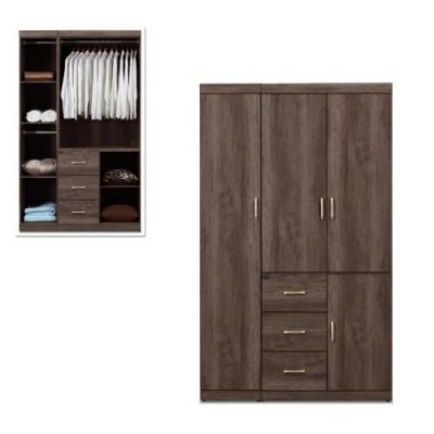 MUNA 凱爾 4 X 7尺灰橡色衣櫥/衣櫃 120.5X56X199cm