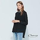 OUWEY歐薇 都會感珠飾雪紡兩件式上衣(黑)
