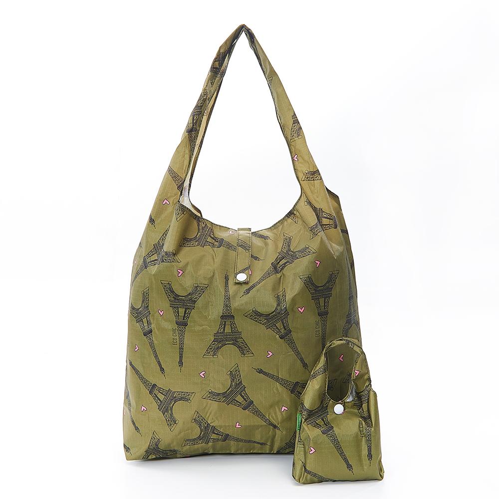 英國ECO購物袋-小巴黎