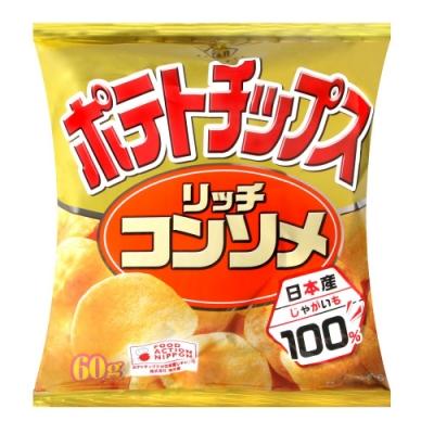 湖池屋 雞汁風味薯片(60g)