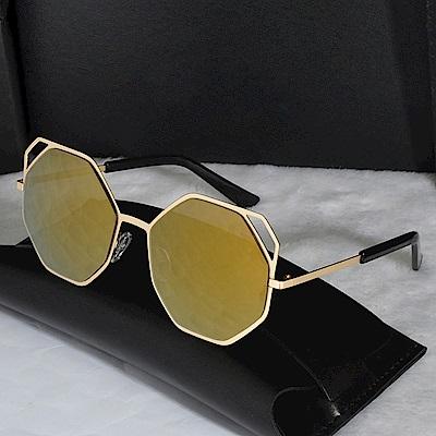 米蘭精品 太陽眼鏡偏光墨鏡-酷炫六邊型時尚男女配件